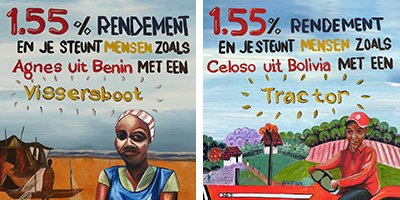 Ons werk: Oikocredit paintings